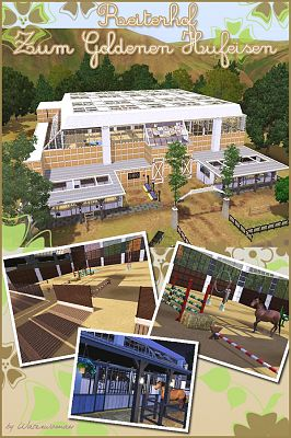 Sims 3 lot, community, property