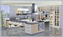 Sims 3 kitchen, furniture, set, objects, meshes