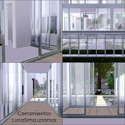 Sims 3 windows, build, objects, doors