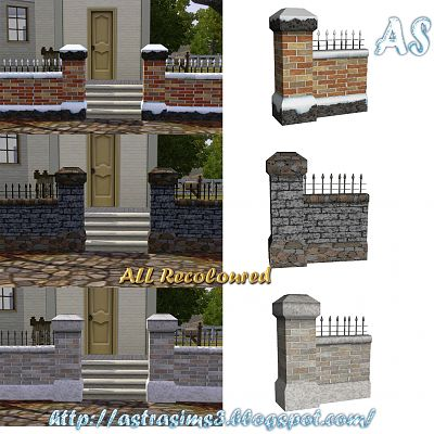 Sims 3 fence, build, object