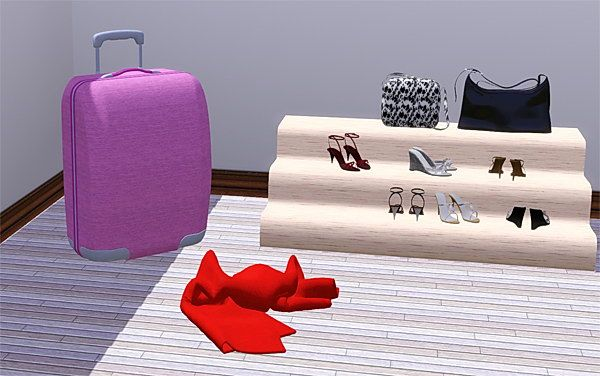 Sims 3 bedroom, objects, decor