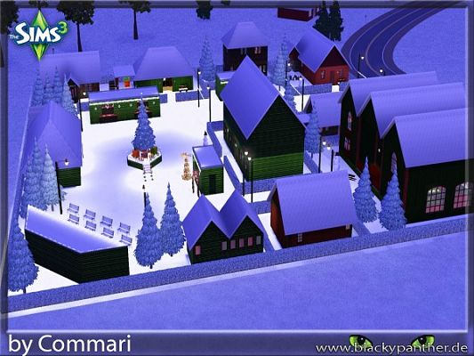 Sims 3 rugs, lot, park, objects