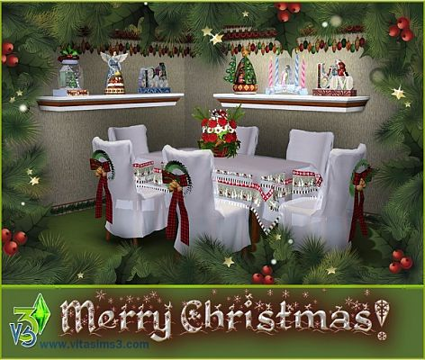 Sims 3 decor, decorations, objects, christmas