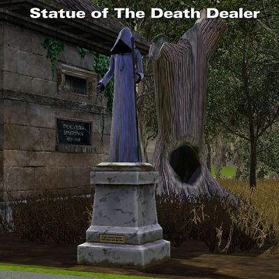 Sims 3 statue, object