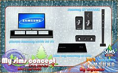 Sims 3 electronics, objects, plasma tv, home theater