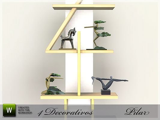 Sims 3 sculptures, objects, decor