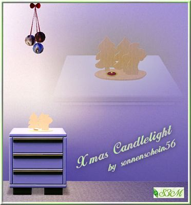 Sims 3 candlelight, decor, objects