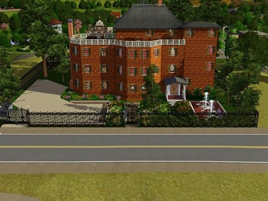 Sims 3 lot, community, hotel, building