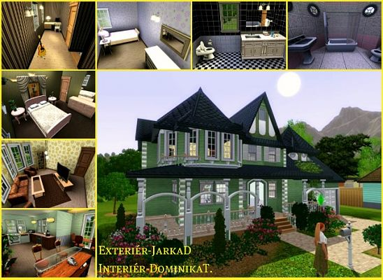 Sims 3 house, lot, residential, victorian