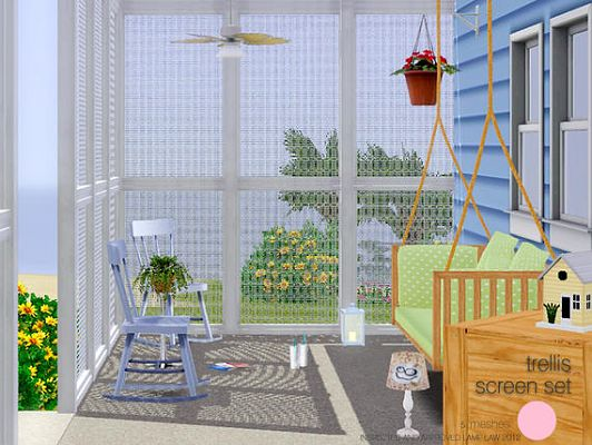 Sims 3 screen, lamp, objects, decor