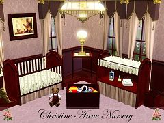 Sims 3 changing table, table, toybox, crib, nursery, kids