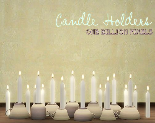 Sims 3 candles, lighting, decor, objects