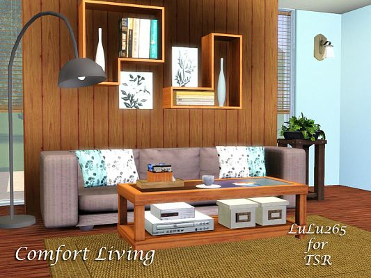 Sims 3 livingroom, furniture, objects, decorative