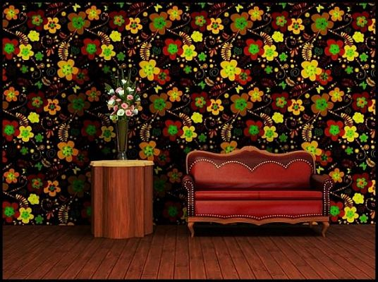 Sims 3 pattern, patterns, texture, floral