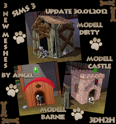 Sims 3 pets, decorative, objects
