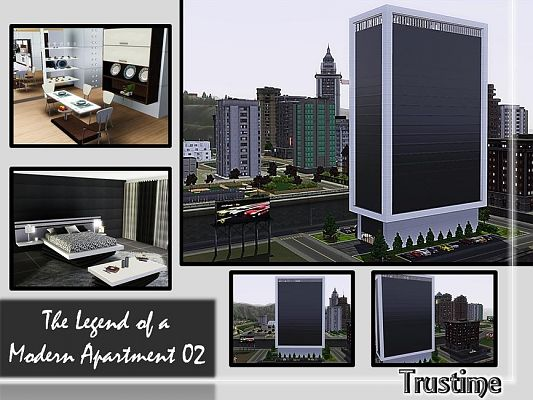 Sims 3 residential, lot, building, house, apartment