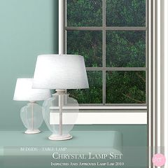 Sims 3 lamp, set, light, lights