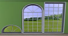 Sims 3 windows, colonial, house, build