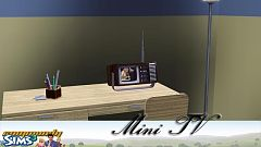 Sims 3 tv, electronics, skateboard