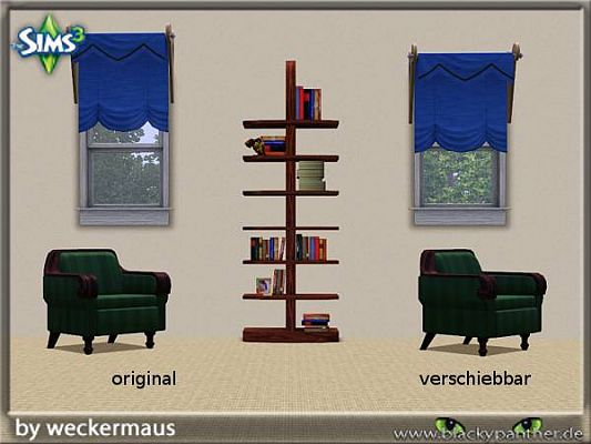 Sims 3 curtain, objects, decor
