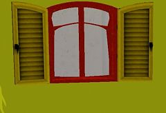 Sims 3 window, caravan, build,
