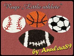 Sims 3 rugs, decor, object, sport