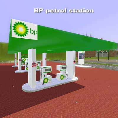 Sims 3 petrol station