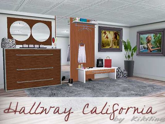 Sims 3 hallway, decorative, objects