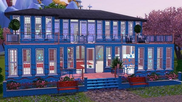 Sims 3 salon, community, lot