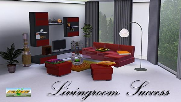 Sims 3 living, livingroom, set, furniture, patterns, air, travel