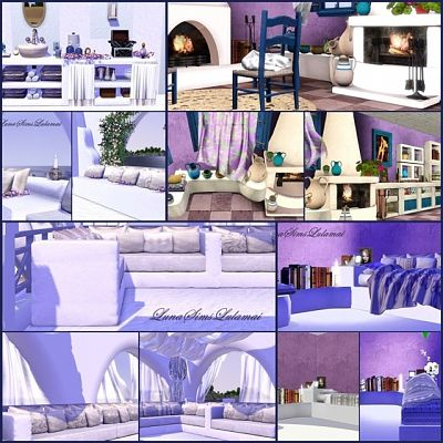 Sims 3 outdor, objects, furniture, decor