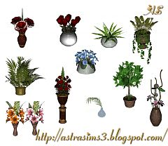 Sims 3 flowers, garden, plants