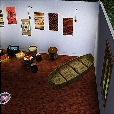 Sims 3 indian, objects, decor