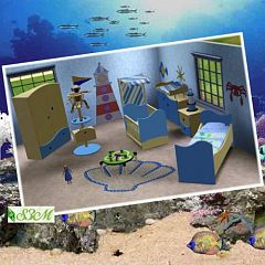 Sims 3 bed, bedroom, furniture, sims, room, children