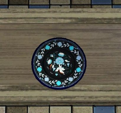 Sims 3 plates, paintings, decor, objects
