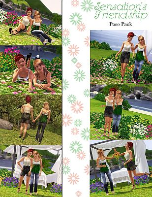 Sims 3 poses