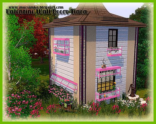 Sims 3 wall, decor, object, sims 3
