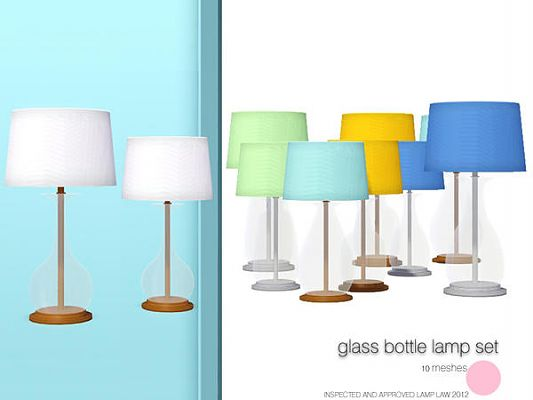 Sims 3 lamp, light, lighting, object