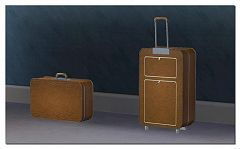 Sims 3 suitcase, dressers, luggage, furniture