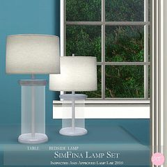 Sims 3 glass, lamp, set, light, lighting, object