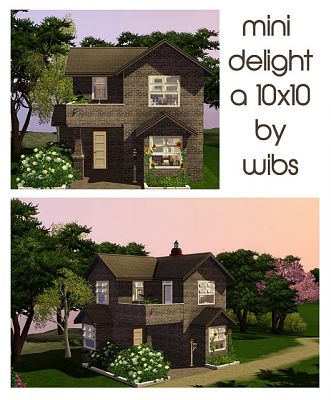 Sims 3 residential, lot, house, building