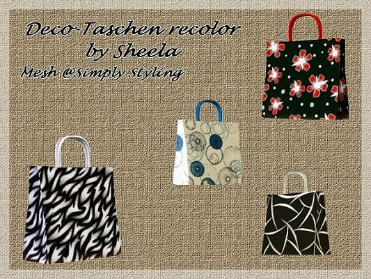 Sims 3 bag, decor, decoration