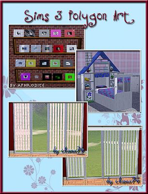 Sims 3 kids, room, set, furniture