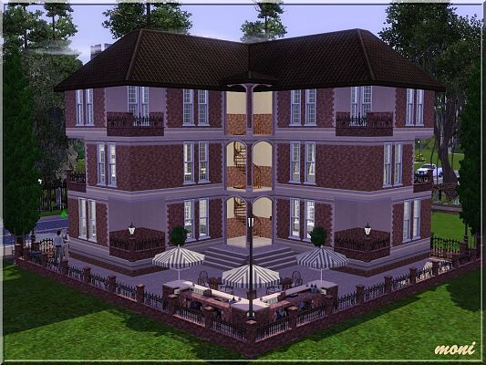 Sims 3 apartment, residential, lot, building, house