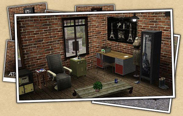 Sims 3 furniture, decor, objects