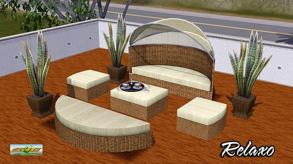 Sims 3 bed, bedroom, furniture, objects, set, outdoor