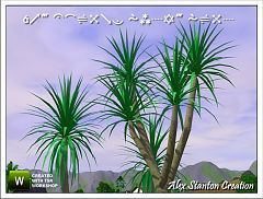 Sims 3 plant, decor, decoration, garden, outdoor