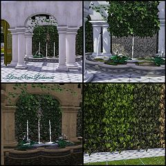 Sims 3 arches, build, objects