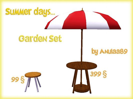 Sims 3 outdoor, garden, objects, decor, furniture