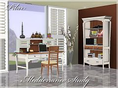 Sims 3 office, study, set, furniture